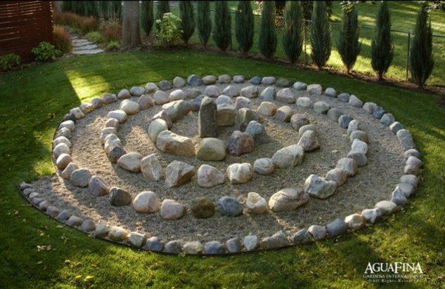 15+ Jardínes Preciosos de Rocas y Macetas Que Te Gustará