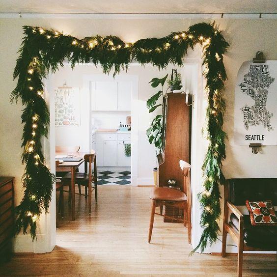 estupendas ideas para decorar tu saln estas navidades