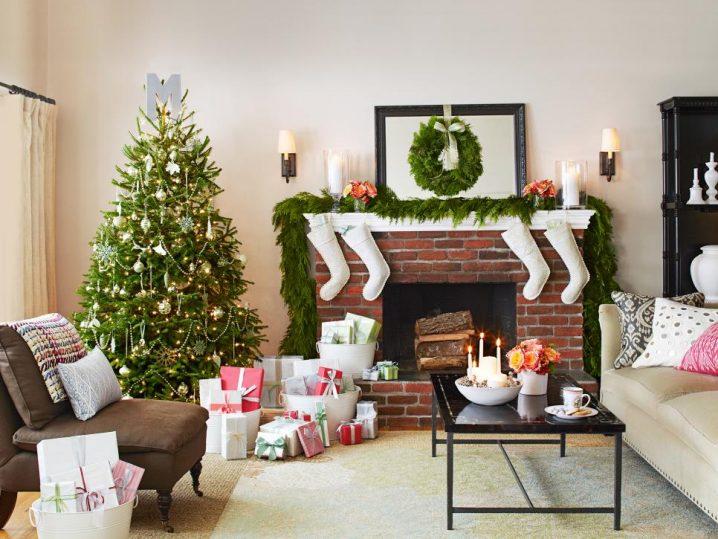 15+ Estupendas Ideas para Decorar tu Salón estas Navidades