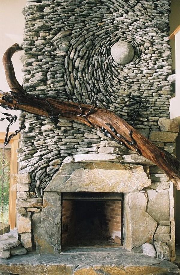 15+ Fantásticas Ideas para Decorar tu Casa con Piedras de Río