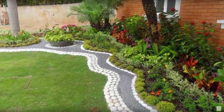 20 hermosas ideas para decorar tu jard n con piedras for Ideas para tu jardin paisajismo