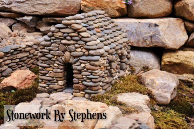 hermosas ideas para decorar tu jardn con piedras with piedras decoracion jardin