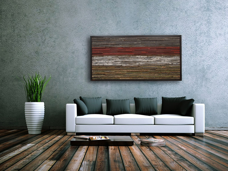 15+ Impresionantes Ideas para Decorar una Pared Rustica