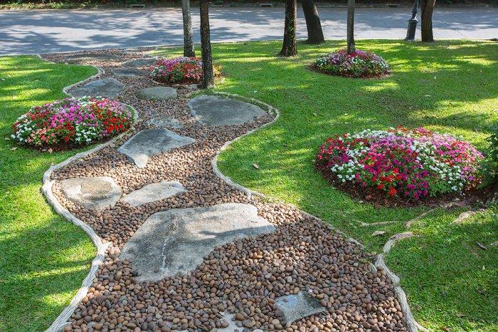 12 Fantasticas Ideas Para Disenar Un Jardin Con Piedras - Ideas-para-hacer-un-jardin