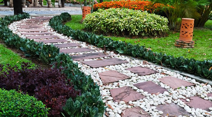12 fant sticas ideas para dise ar un jard n con piedras for Disenar jardines