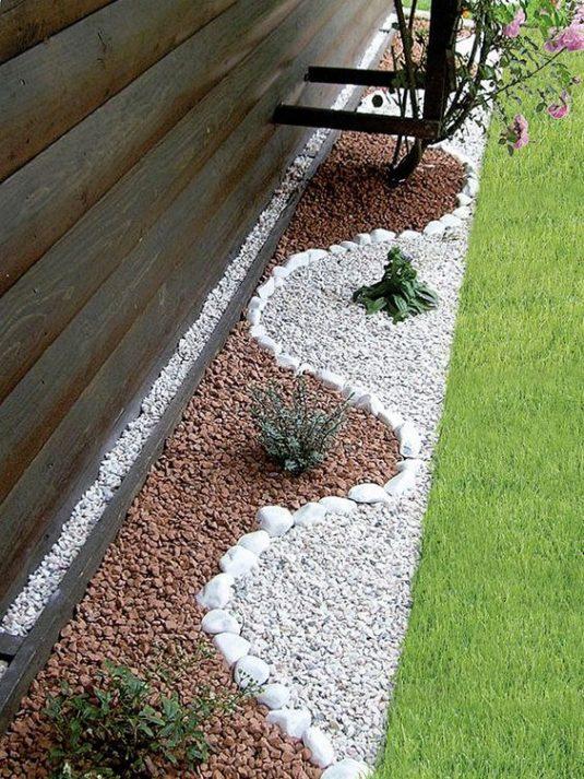 12+ Fantásticas Ideas para Diseñar un Jardín con Piedras