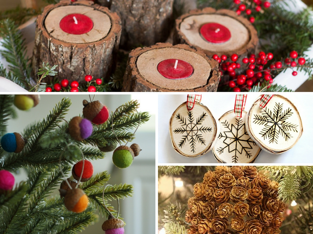 20+ Estupendos Adornos de Navidad muy Natural