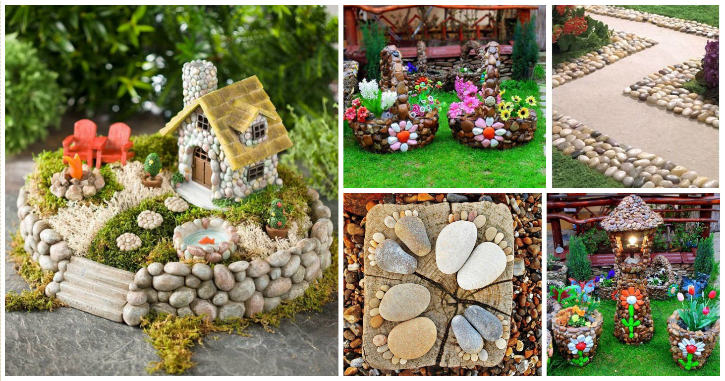 15 fabulosas ideas para la decoraci n de tu jard n con rocas for Ideas para decorar paredes de jardin