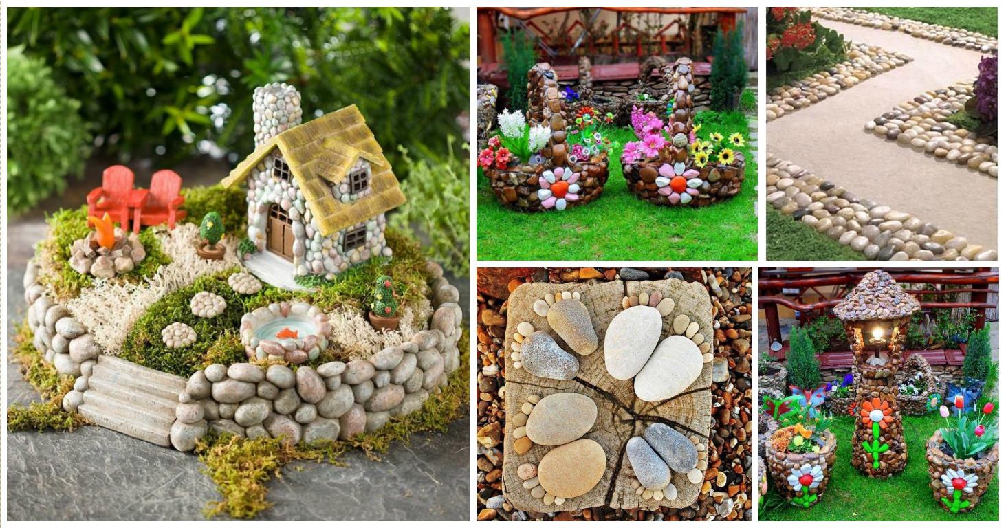 15 fabulosas ideas para la decoraci n de tu jard n con rocas for Ideas originales para jardines