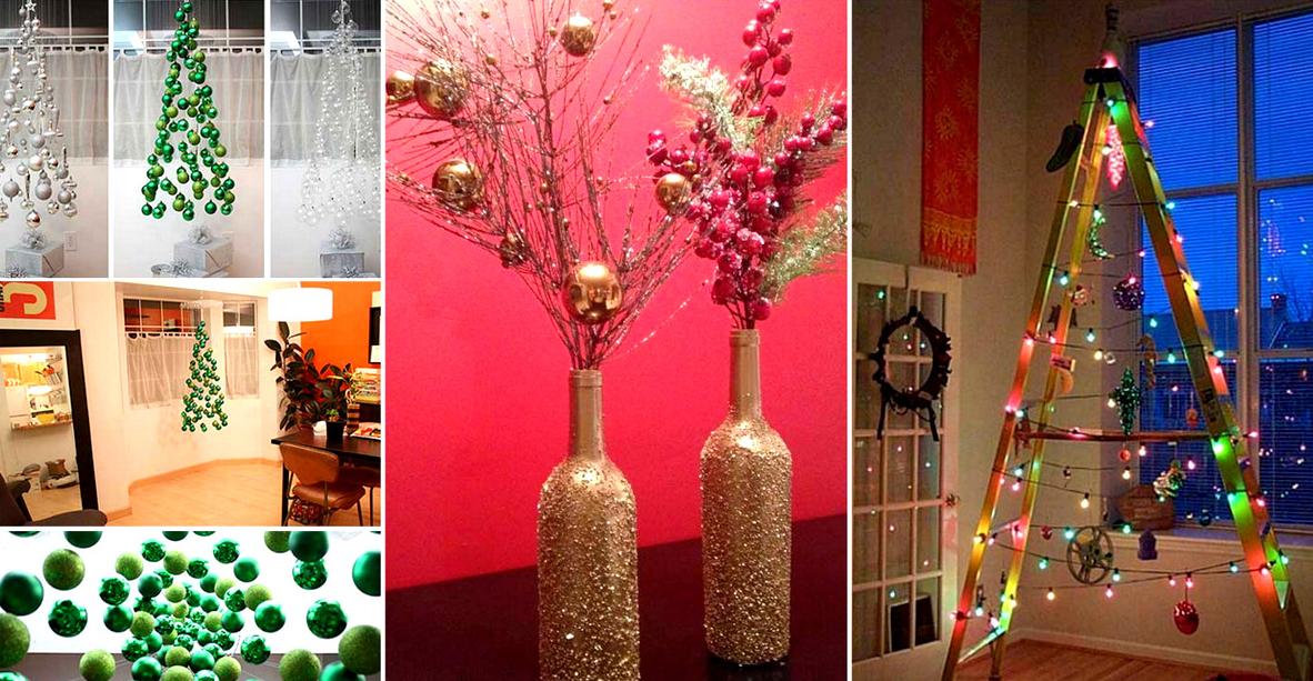 25 impressionantes decoraciones navide as muy f ciles y - Decoraciones navidenas faciles ...