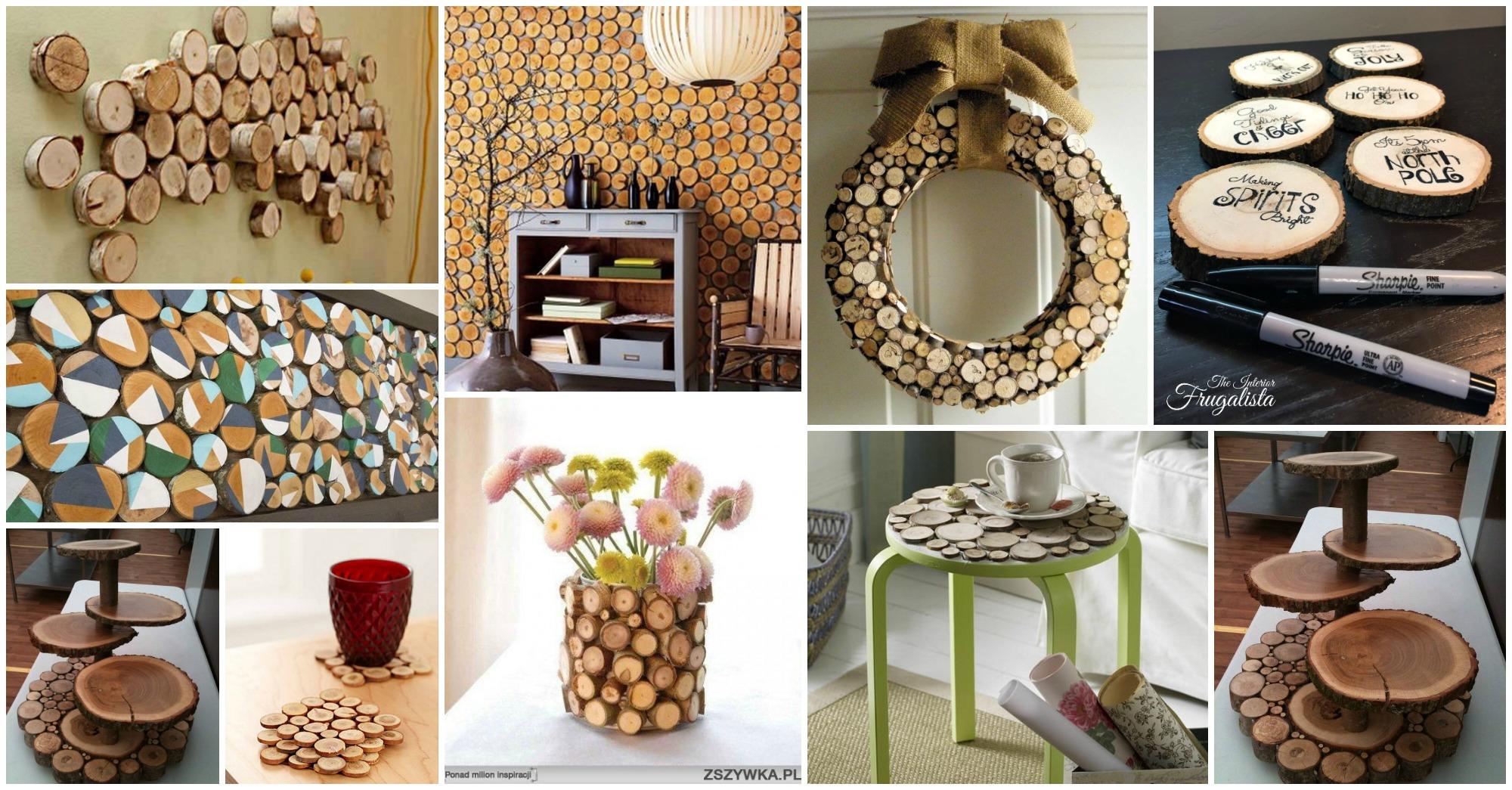 15 ideas decorativas y tiles para hacer con rodajas de for Ideas decorativas para la casa