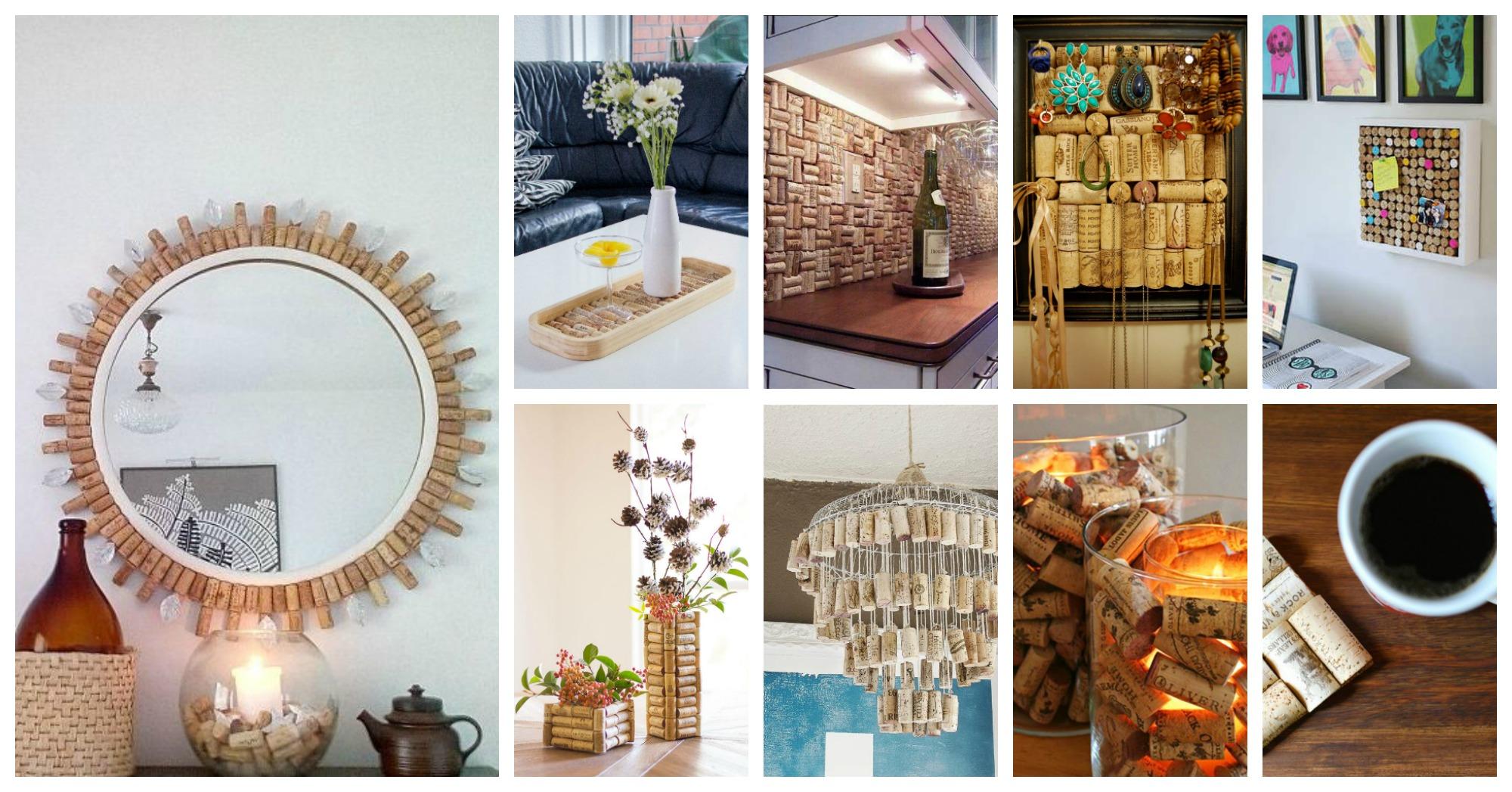 15+ Proyectos Creativos de Bricolaje para Hacer con Corchos