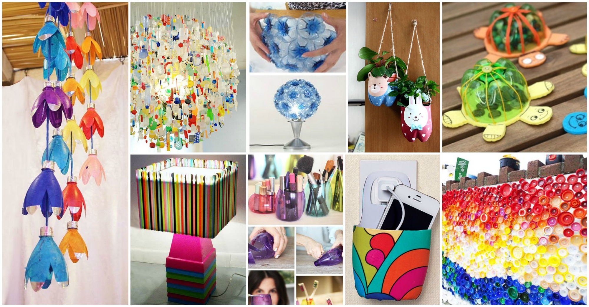 15 geniales ideas para reciclar botellas de pl stico - Reciclar cosas para decorar ...