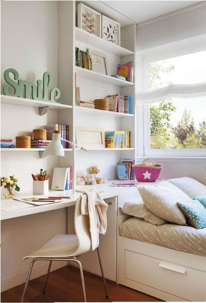 15 grandes ideas para dormitorios peque os muy acogedores for Ideas decorar habitacion juvenil chica