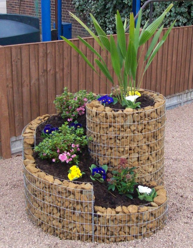 15+ Brillantes Gaviones Decorativos para Patios y Jardines