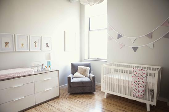 ideas creativas para decorar la habitacin nia recin nacida with decoracion bebes recien nacidos