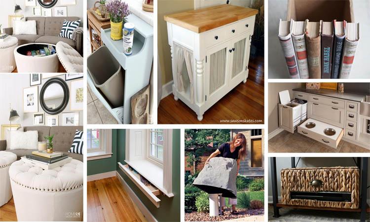 15 ideas geniales para aprovechar el espacio en casa for Ideas aprovechar espacio cocina