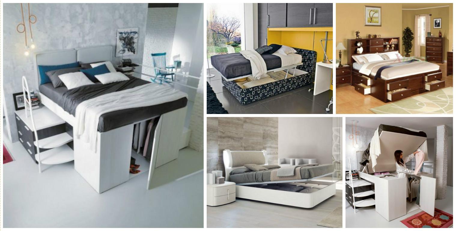 15 geniales ideas para aprovechar el espacio en - Aprovechar espacio habitacion pequena ...