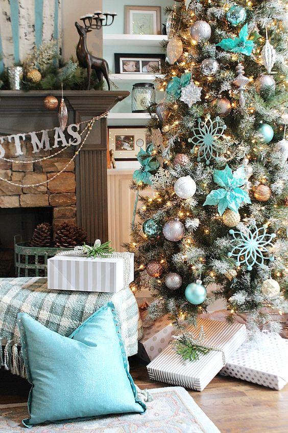 15 ideas preciosas para decorar arbol de navidad - Ideas decorar arbol navidad ...