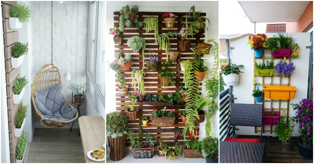 15 balcones decorados con plantadores con mucho estilo for Ideas para decorar patios chicos