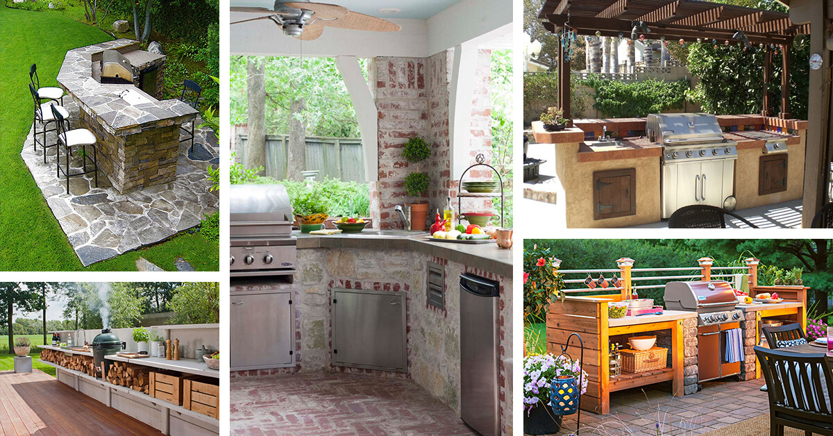 outdoor kitchen designs photos 25 ideas geniales para las cocinas al aire libre 3851