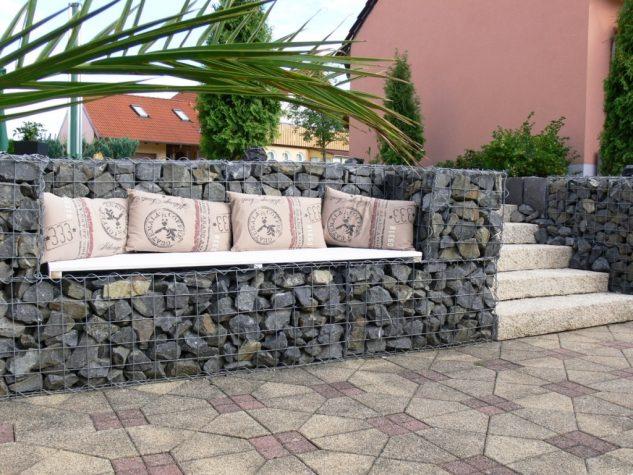 15+ Ideas con Gaviones de Piedra Totalmente Geniales!