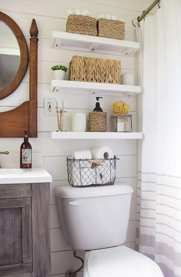 Magníficas Ideas de Almacenamiento para Baños