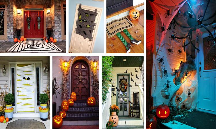 15+ Decoración Puertas Halloween – Adornos e Ideas para Decorar