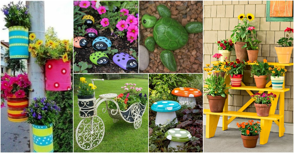 15 ideas increibles para la decoraci n jardines for Decoraciones jardines
