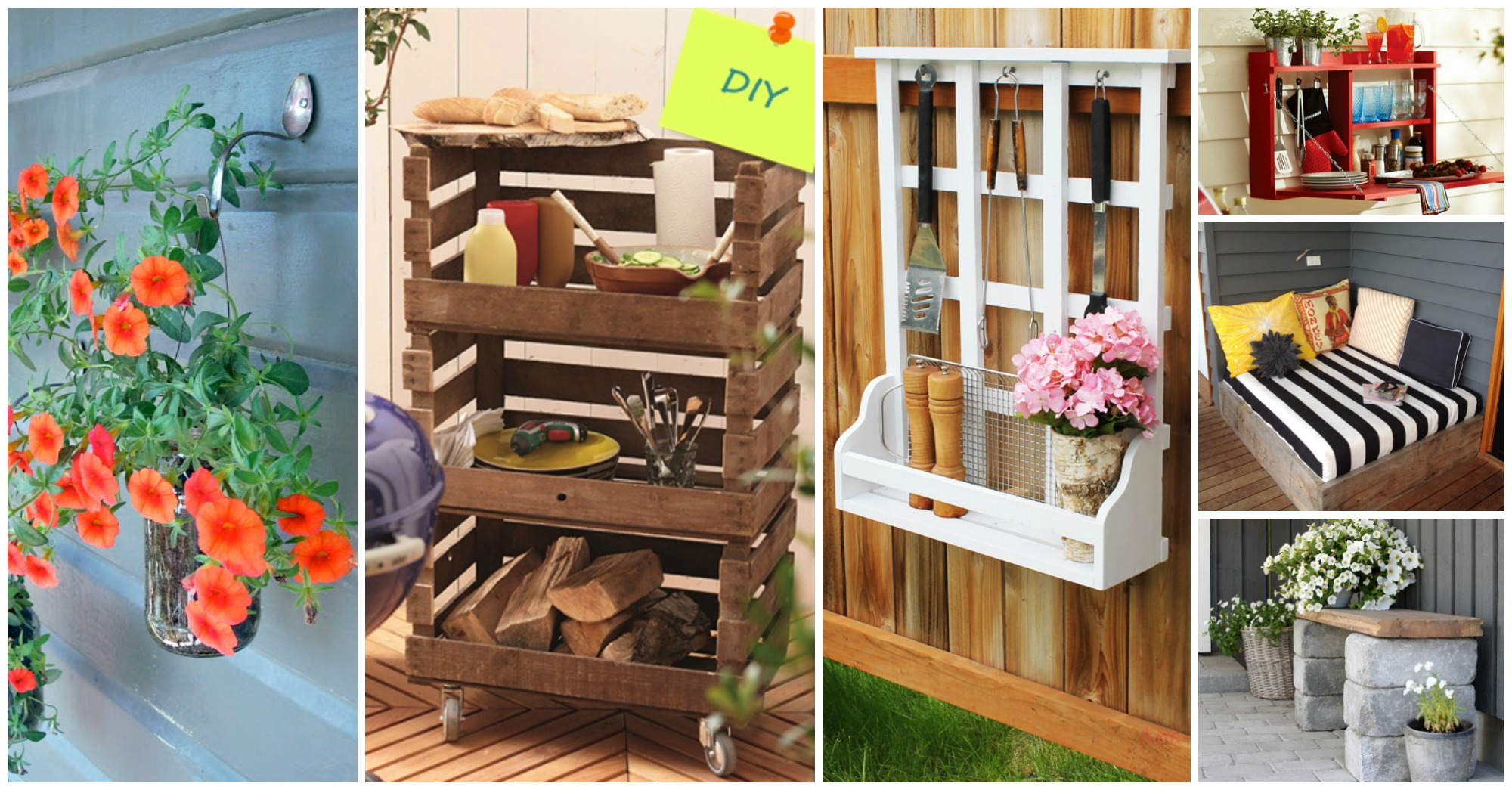 15 proyectos diy para decorar el jard n con objetos for Casa y jardin decoracion
