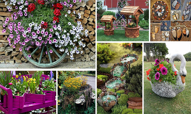 15 fant sticas ideas para decorar tu jard n for Ideas para tu jardin