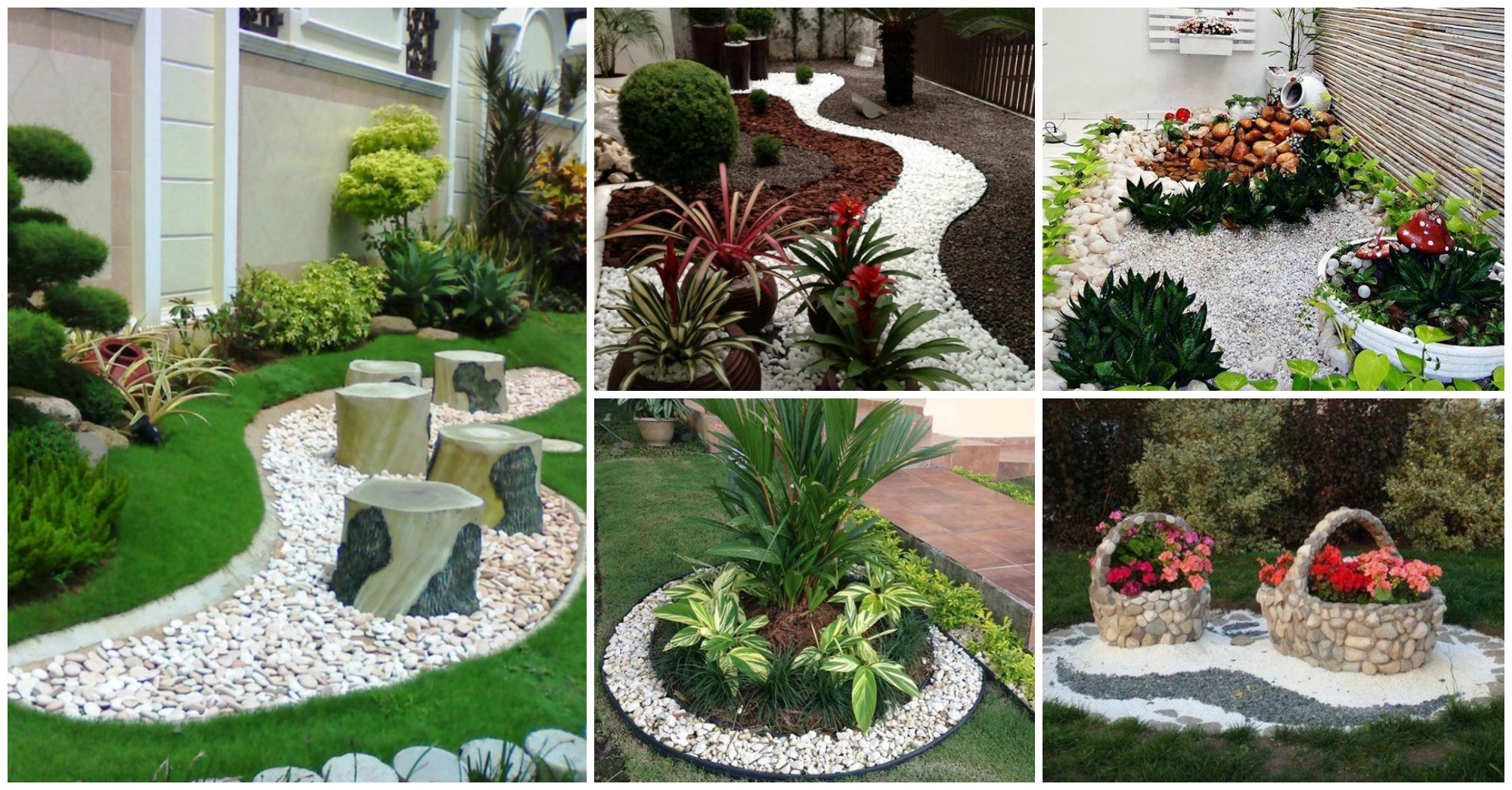 12 fant sticas ideas para dise ar un jard n con piedras for Ideas para decorar jardines