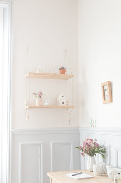 15+ Ideas Creativas para Decorar con Estantes Flotantes