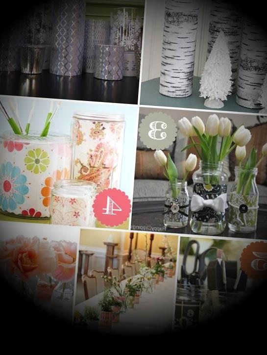 ideas-manualidades-diy-jarrones-centros-mesa-boda-baratos