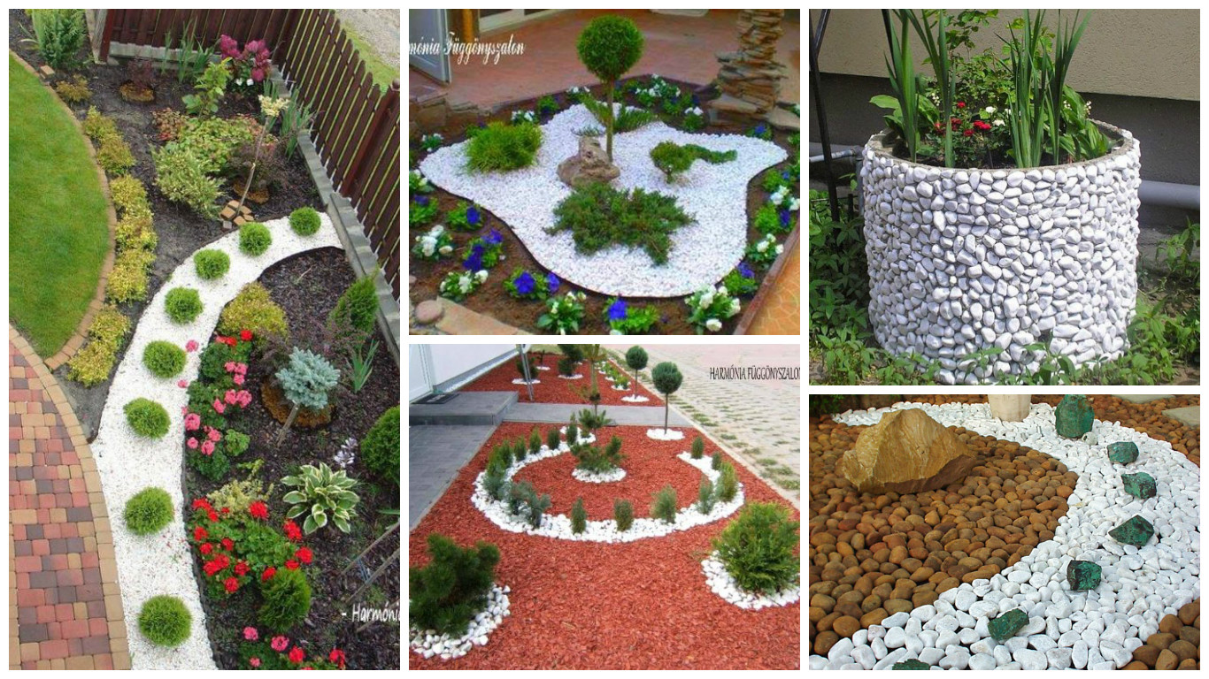 15 las mejores ideas para decorar con piedras tu jard n - Ideas para decorar tu jardin ...