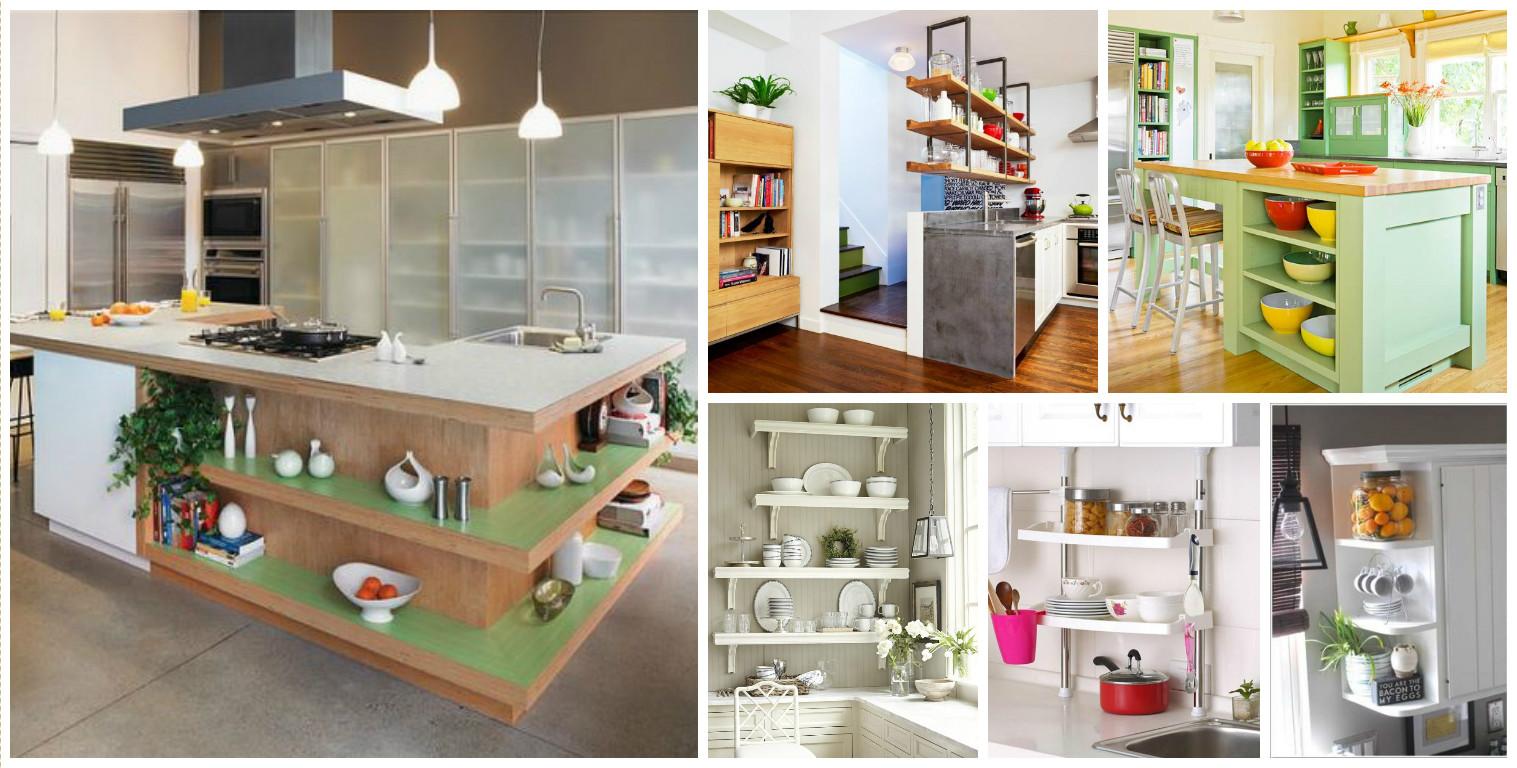 20+ Inteligentes Soluciones de Almacenamiento para la Cocina con ...