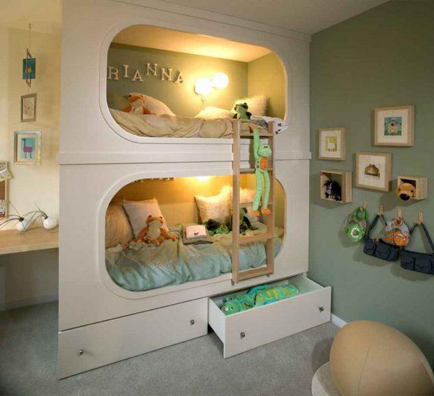 15+ Increíbles Habitaciones para Niños te Harán Desear Tener