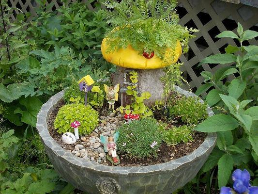 20+ Estupendos Jardines de Hadas Mágicas