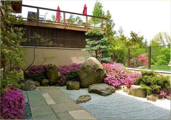 20+ Exelentes Y Relajantes Jardines Zen