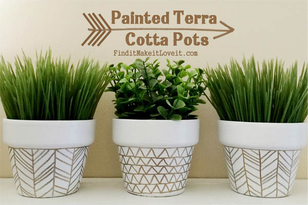 15+ Brillantes Ideas para Decorar una Maceta de Terracota