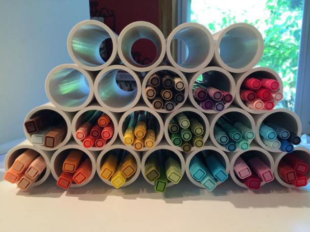 15+ Ingeniosas Ideas para Hacer Manualidades con Tubos de PVC