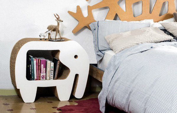 10+ Ideas Originales y Divertidas para Decorar con Muebles de Cartón