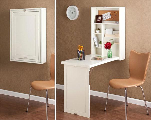 15+ Impressionantes Muebles que te Ayudarán a Ahorrar Espacio en Casa