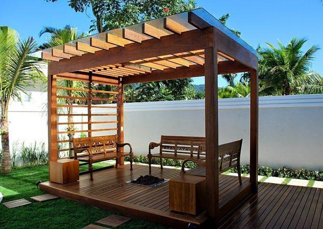 15 impresionantes pergolas de madera para tu patio trasero