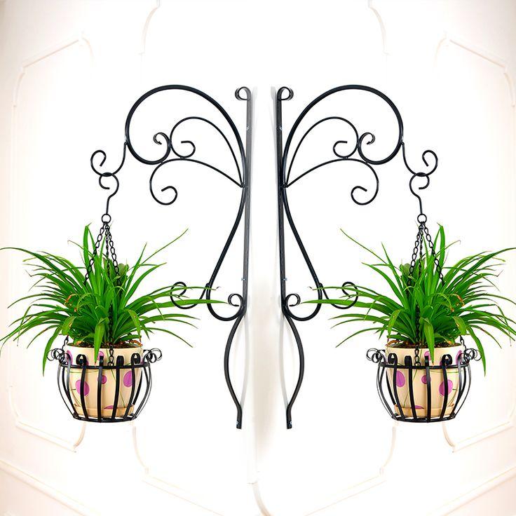 15+ Originales Ideas con Plantadores de Hierro Forjado