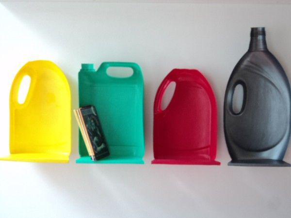 15+ Creativas Ideas para Reciclar Botellas Plásticas