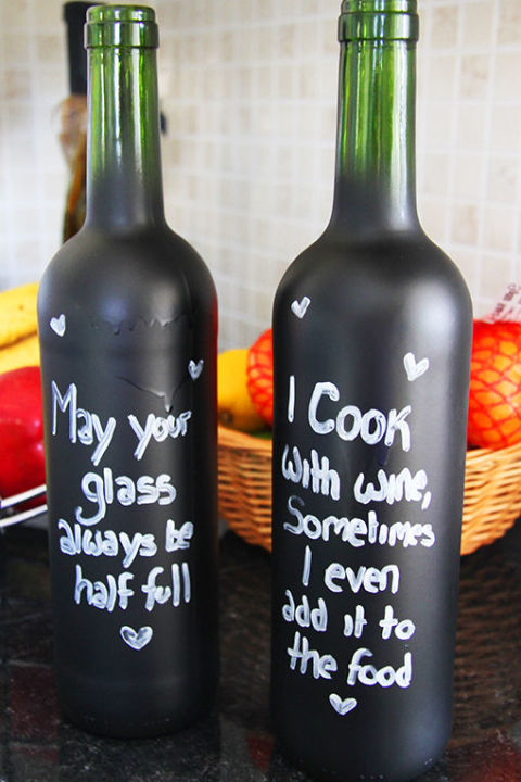 reciclar botellas vino otono 1