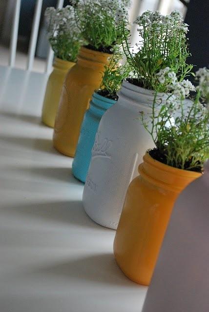 15+ Formas Impresionantes para Reciclar los Frascos de Masón