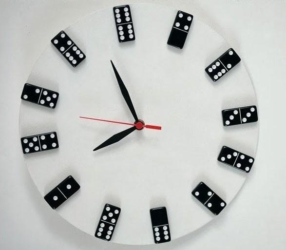 DIY de Relojes de Pared con Material Reciclado