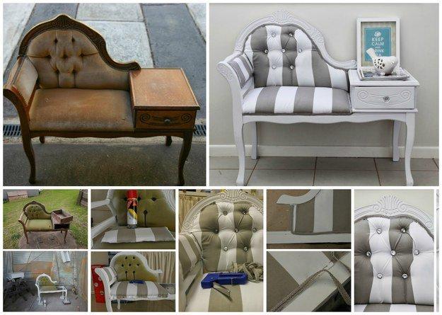 20 Ideas Mas Creativas Para Restaurar Muebles Antiguos - Como-restaurar-muebles-antiguos